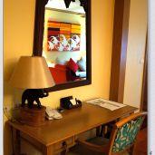 客廳的辦公桌